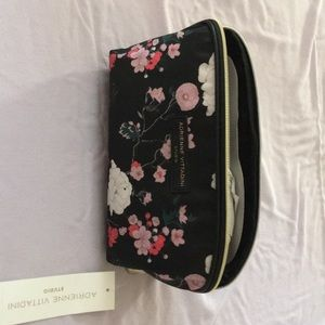 "New With Tags ""Adrienne Vittadini"" Cosmetic Bag"